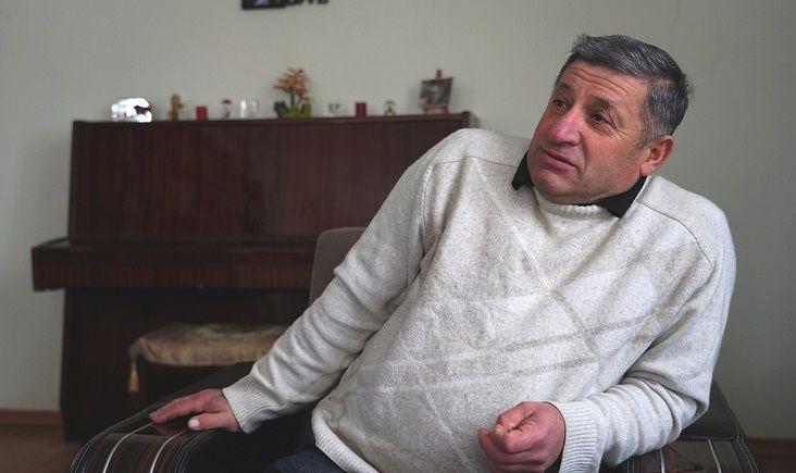 თემურ კაპანაძე, დავით  ფიფიას ფოტო, JAMnews