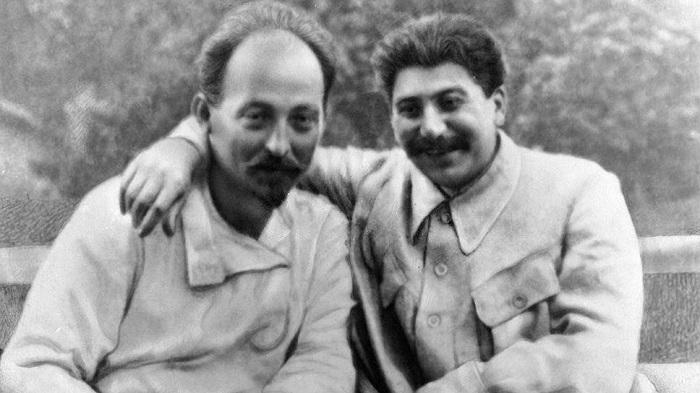 ფელიქს ძერჟინსკი და იოსებ სტალინი